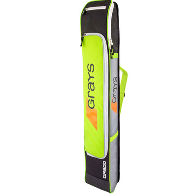 Grays GR300 Field Hockey Stick Bag - Grey/Silver/Green