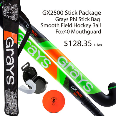 GX2500 Field Hockey Stick Package