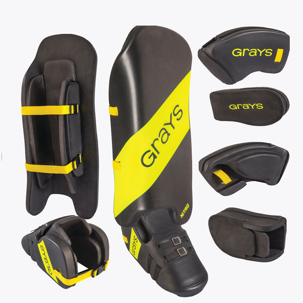 Grays Nitro Junior Field Hockey Goal Keeper Set