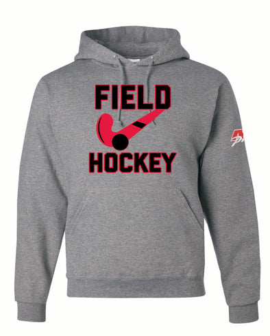 Field Hockey Stick Hooded Top