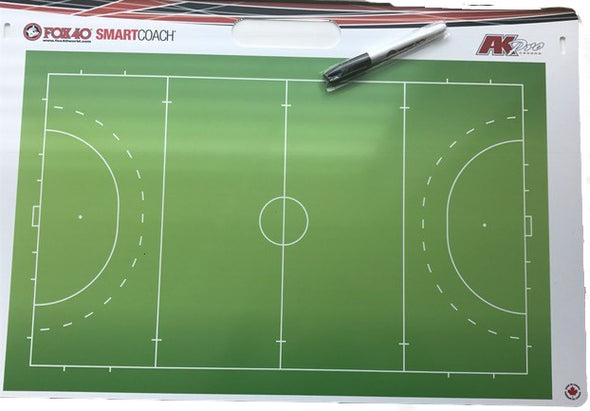 Fox 40 Pro Rigid Field Hockey Carry Coaching Board