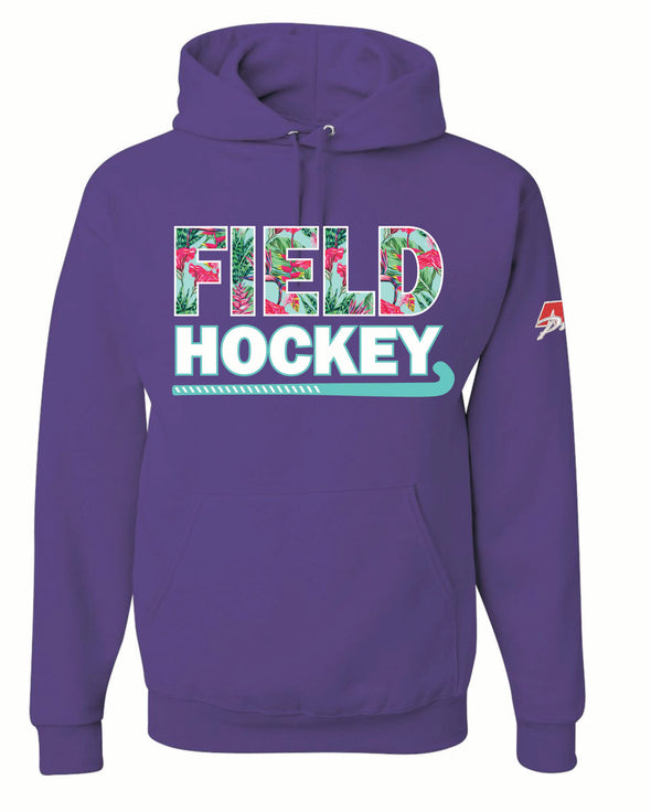 Purple Field Hockey Hooded Top
