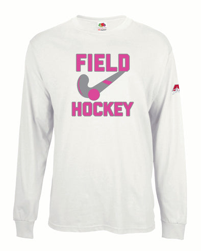 Field Hockey Stick Long Sleeved Shirt