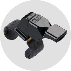 Fox40 Pealess Classic Official Whistle + Fingergrip