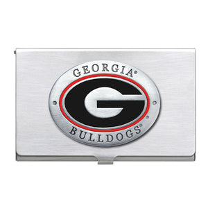 UNIVERSITY OF GEORGIA BUSINESS CARD CASE