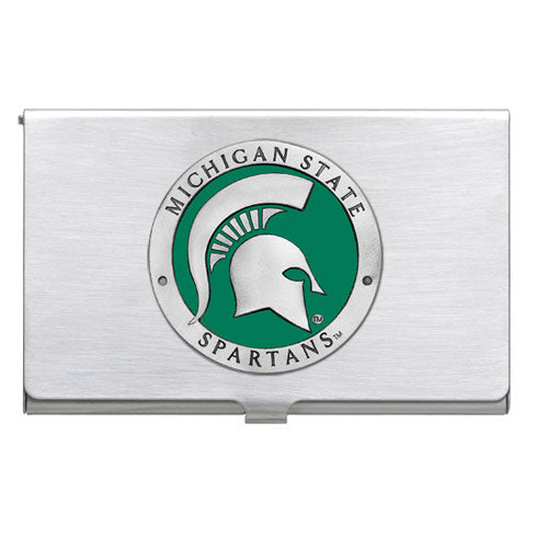 MICHIGAN STATE UNIVERSITY BUSINESS CARD CASE