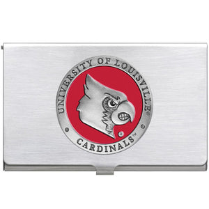 UNIVERSITY OF LOUISVILLE BUSINESS CARD CASE