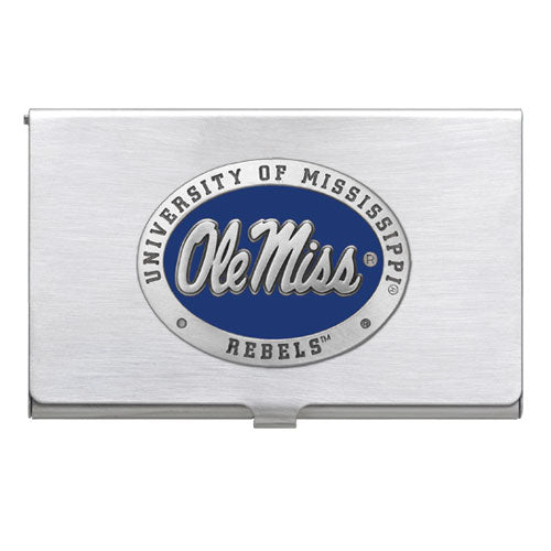 UNIVERSITY OF MISSISSIPPI BUSINESS CARD CASE