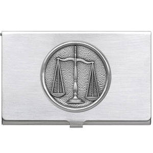LAW BUSINESS CARD CASE