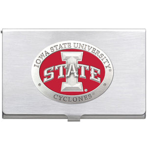 IOWA STATE UNIVERSITY BUSINESS CARD CASE