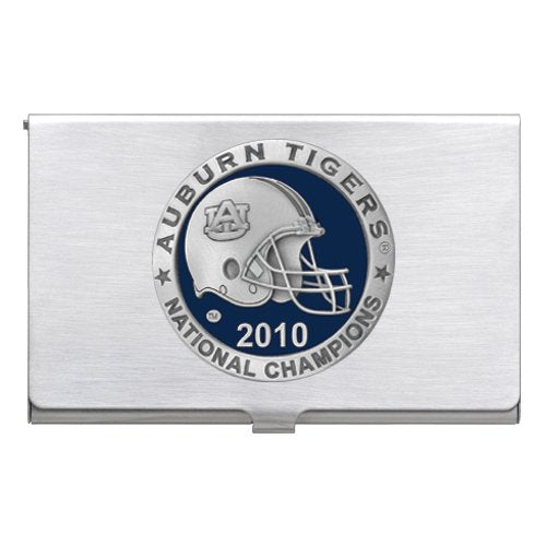 AUBURN UNIVERSITY NATIONAL CHAMPIONS 2010 BUSINESS CARD CASE