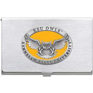 KENNESAW STATE UNIVERSITY BUSINESS CARD CASE