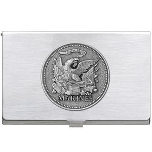 MARINES HISTORIC BUSINESS CARD CASE