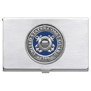 COAST GUARD BUSINESS CARD CASE