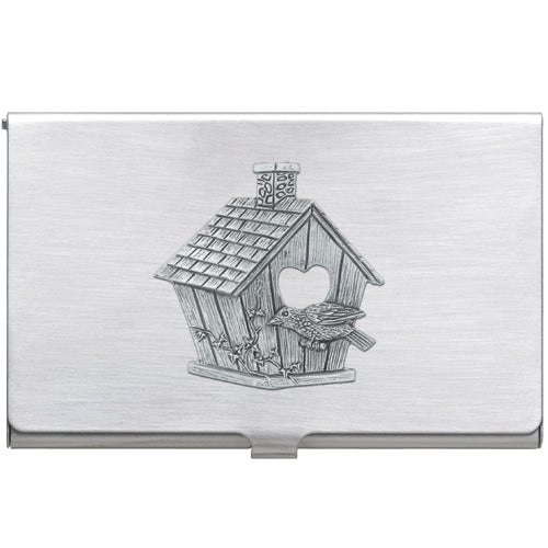 BIRDHOUSE BUSINESS CARD CASE