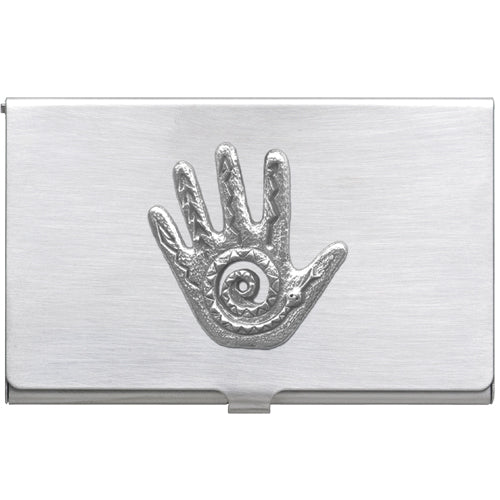 SPIRIT HAND BUSINESS CARD CASE