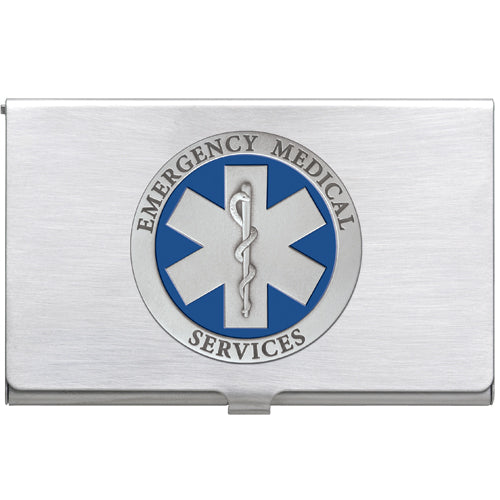 EMERGENCY MEDICAL BUSINESS CARD CASE
