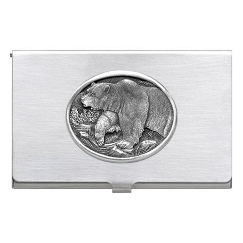 GRIZZLY BEAR BUSINESS CARD CASE
