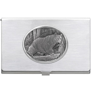 BLACK BEAR BUSINESS CARD CASE
