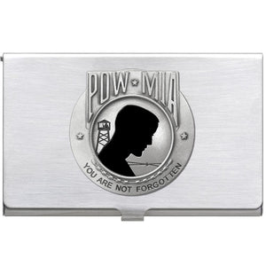 P.O.W. M.I.A. BUSINESS CARD CASE
