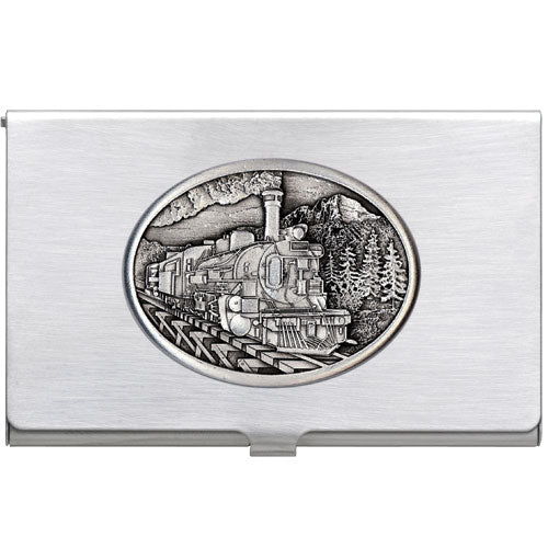 TRAIN BUSINESS CARD CASE