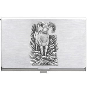BIGHORN SHEEP BUSINESS CARD CASE