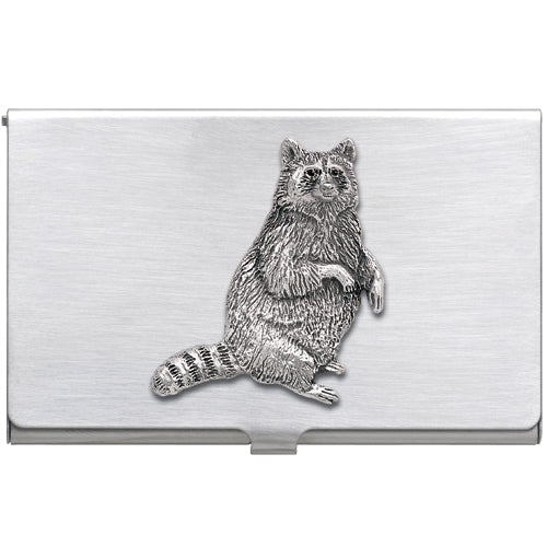 RACCOON BUSINESS CARD CASE