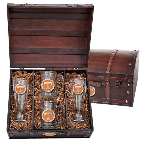 UNIVERSITY OF TENNESSEE BEER CHEST SET