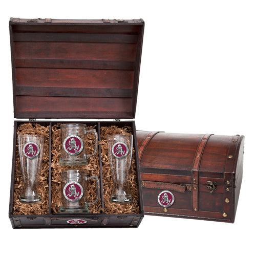 ARIZONA STATE UNIVERSITY SPARKY LOGO BEER CHEST SET