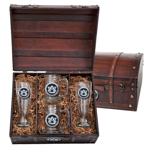 AUBURN UNIVERSITY BEER CHEST SET