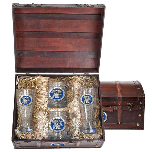 UNIVERSITY OF KENTUCKY BEER CHEST SET