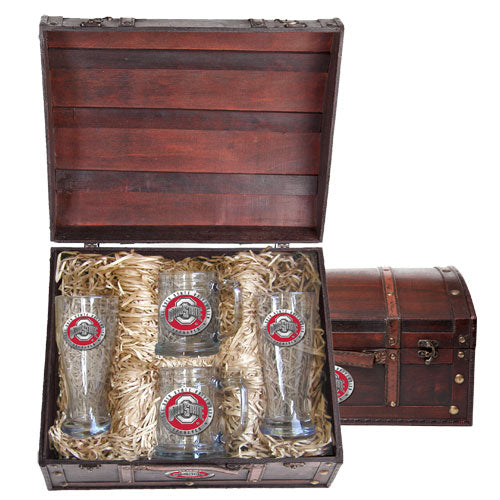 OHIO STATE UNIVERSITY BEER CHEST SET