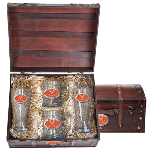 UNIVERSITY OF VIRGINIA BEER CHEST SET