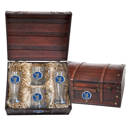 AIR FORCE ACADEMY BEER CHEST SET