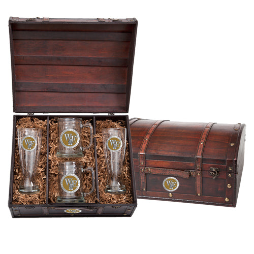 WAKE FOREST UNIVERSITY BEER CHEST SET