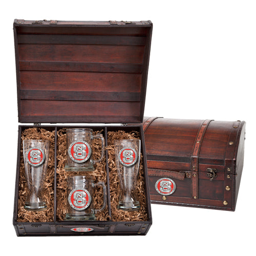 NORTH CAROLINA STATE UNIVERSITY BEER CHEST SET