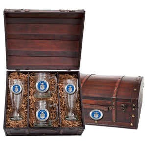 AIR FORCE BEER CHEST SET