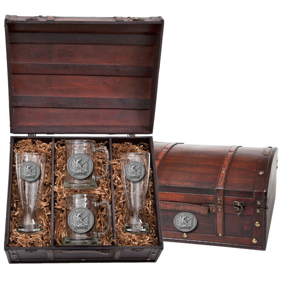 MARINES HISTORIC BEER CHEST SET