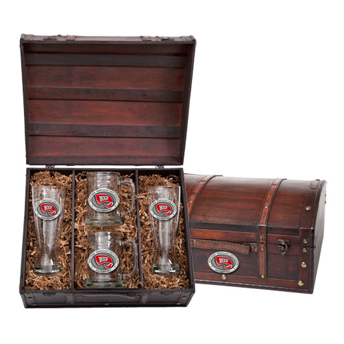 WESTERN KENTUCKY UNIVERSITY BEER CHEST SET