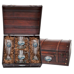 BROWN BEAR BEER CHEST SET