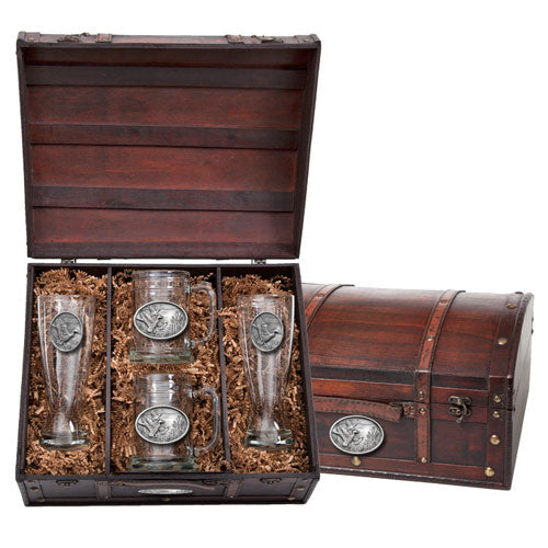 MALLARD DUCKS BEER CHEST SET