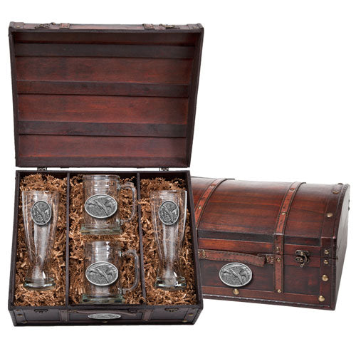 PHEASANT BEER CHEST SET