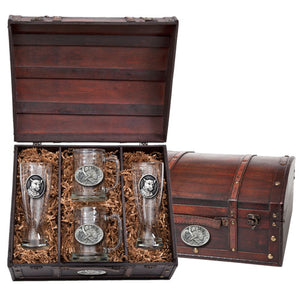 LEOPARD BEER CHEST SET
