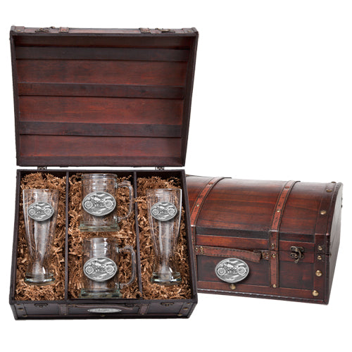 MOTORCYCLE BEER CHEST SET