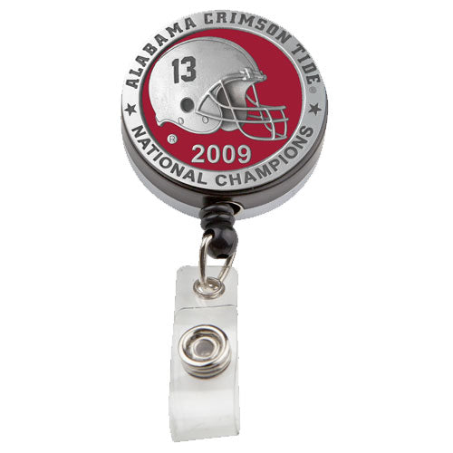 UNIVERSITY OF ALABAMA NATIONAL CHAMPIONS BADGE REEL
