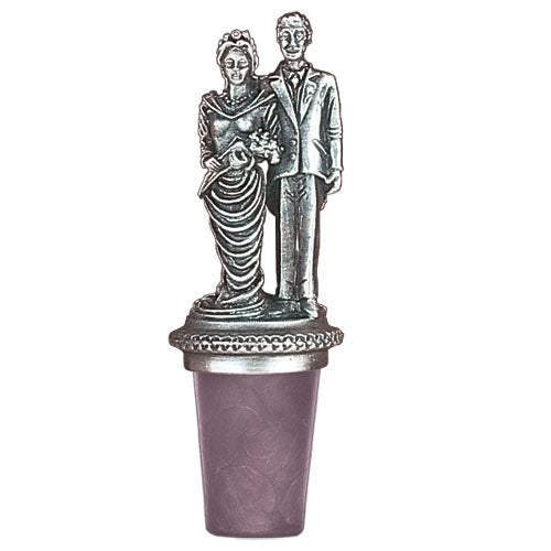 WEDDING COUPLE BOTTLE STOPPER