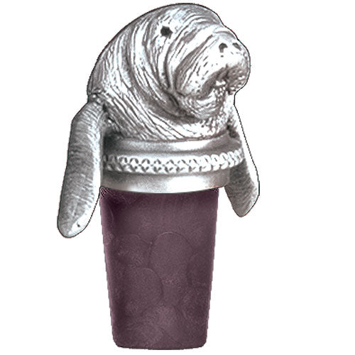 MANATEE BOTTLE STOPPER