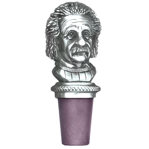 EINSTEIN BOTTLE STOPPER