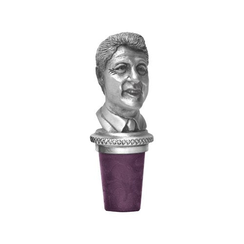 BILL CLINTON BOTTLE STOPPER
