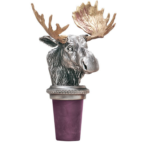 Moose bottle stopper we cater coffee mug, capitol decanters, double old fashioned, flask, key chain, ornament, pint glass, royal decanter, square shot glass, stein, travel mugs, business card case, bottle opener, wine bottle stopper, goblet, money clip, mason jar mug, salt & pepper shakers, thermos and wine tumbler.